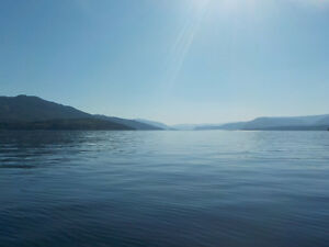 16 Acre Semi Waterfront Property on SHUSWAP LAKE