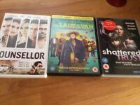DVDs x 3