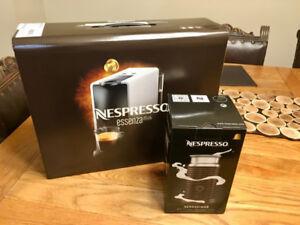 Brand new,  Nespresso Essenza Mini & Aeroccino 3 milk Frother