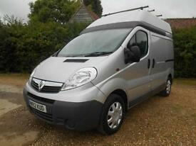 2012 VAUXHALL VIVARO 2.0CDTI 6SPEED EXTRA HIGH ROOF EURO5 CLEAN VAN