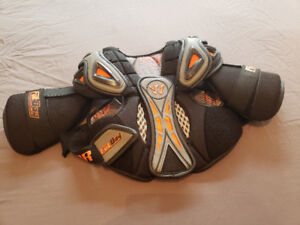 Lacrosse Gloves and Chest Protector