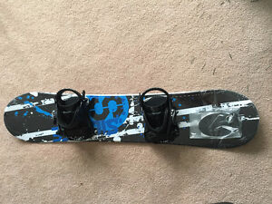 Snowboard with Bindings - Brand New in Box Size 120 +