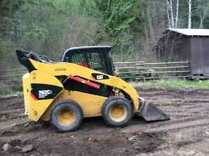 Skid steer and trailer for rent
