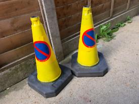 No Waiting Cones in good condition