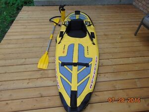 Inflatable Kayak-Adults NOT a cheap blow up beach toy