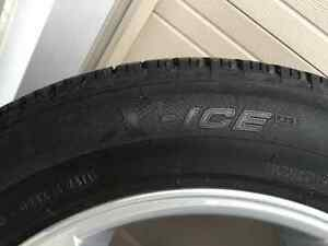 Acura TL Alloy Wheels and Michelin X-Ice3  Winter Tires London Ontario image 3