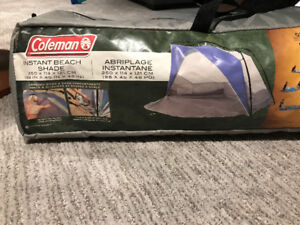 Coleman Instant Beach Shade Tent