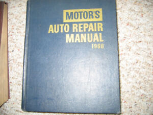 various Motors. Manuals, 1957 and up