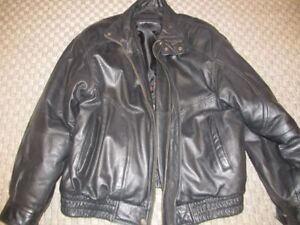 mens xl bomber leather jacket