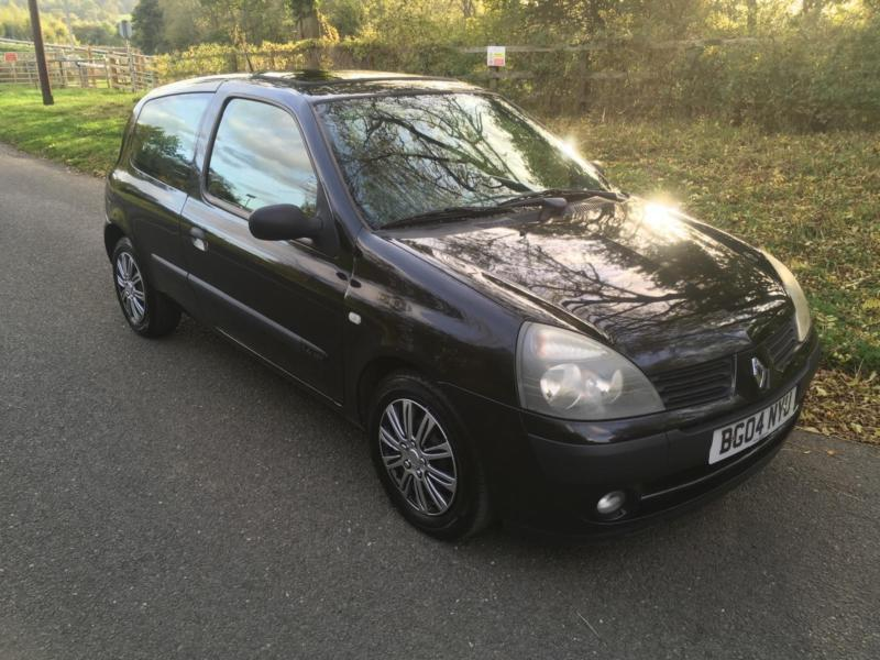 Renault Clio 1.4 16v ( a/c ) auto Expression LONG MOT + IDEAL FIRST CAR