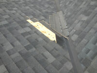 Reroof and roof repairs