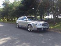 2004 AUDI S4 AVANT 4.2 V8 QUATTRO AUTO SILVER