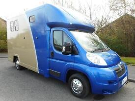 Citroen Relay 2.2HDi 3.5t tonne Horsebox. Brand New John Oates conversion