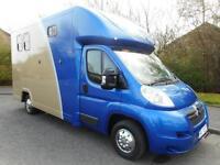 Citroen Relay 2.2HDi 3.5t tonne Horsebox. Brand New John Oates conversion