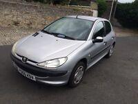 Peugeot 206 1.4 petrol. 8 months mot
