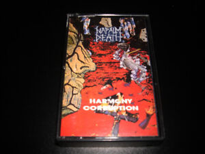 Napalm Death - Harmony corruption (1990) 4 pistes Heavy Metal