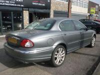 2003 Jaguar X-TYPE 2.1 Classic 4Dr 03 REG Petrol Silver