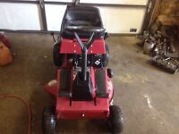 Toro 8hp ride-on lawnmower
