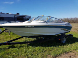18 ft Larson Bowrider and Trailer for sale