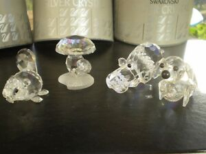 4 - Swarovski Silver Crystal Figurines Kitchener / Waterloo Kitchener Area image 8