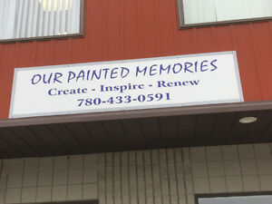 Our Painted Memories...Now Open!