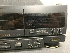 Fisher CR-W9145 Stereo Double Cassette Deck London Ontario image 4