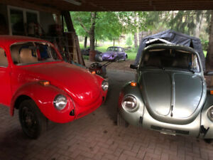 VW aircooled Beetle and Bus parts lot/hoard
