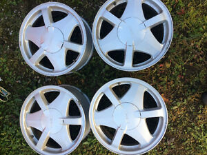 Stock GMC envoy/trailblazer rims