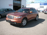 2004 INFINITI FX 35 1 OWNER ACCDIENT FREE W/ NAVI  $8999
