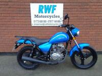 Zontes ZT 125-3A TIGER, 125cc, 2015, EXCELLENT COND, ONLY 1702 MILES