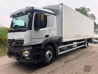 2015 65 Mercedes Actros 1824 Euro 6 sleeper cab 30ft box underslung tail-lift