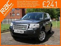 2009 Land Rover Freelander 2.2 TD4 HSE Turbo Diesel 6 Speed Auto 4x4 4WD Twin Pa