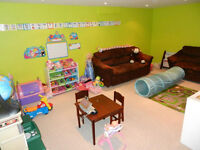 East End Childcare- Space available immediately!