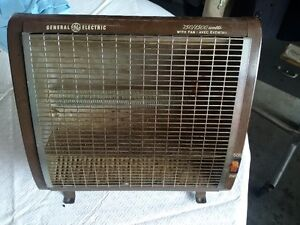 Vintage GE Space Heater