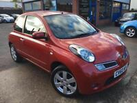 Nissan Micra 1.2 16v 2010 n-tec JUST 43744 MILES*** BUILT IN SAT NAV***