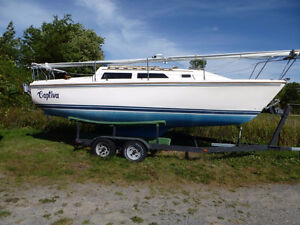 CATALINA 25 WITH TRAILER