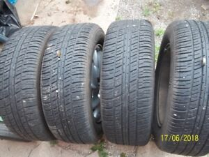 215 60 15 tires on GM rims