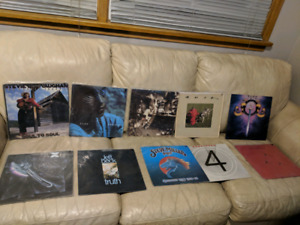 High End Vinyl Record Collection