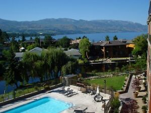 For RENT KELOWNA 2 bdrm 2 bath - lakeside  by Eldorado marina