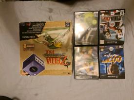 nintendo game cube zelda edition