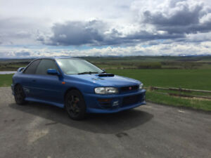 Beautiful 1998 JDM Subaru WRX STI Type R 92 000km