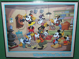 Mickey Mouse And Disney Characters Picture For Sale Cornwall Ontario image 1