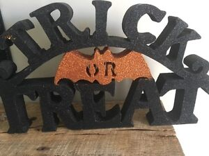HALLOWEEN DECOR black & orange