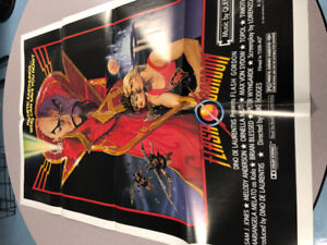 FLASH GORDON THEATRE MOVIE POSTER 1980!  CLASSIC RETRO!  MINT!