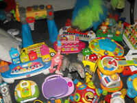Lot of electronic toys over 30 to go asap.
