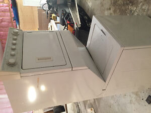 Stand up washer and dryer GUC
