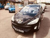 Peugeot 308 1.6 VTi ( 120bhp ) SE Manual Metallic Black Low Miles