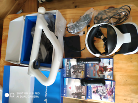 Ps vr bundle full setup