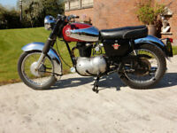 MATCHLESS CSR G2 MONITOR 250cc 1966 V5C & GREEN LOG BOOK