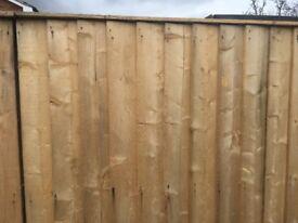 Fence wood, cladding